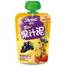 亨氏 (Heinz) 乐维滋果汁泥-苹果黑加仑 (1-3岁适用) 120g