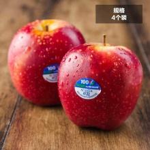 新西兰红玫瑰苹果queen4个(约180g/个)