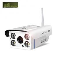军视1080P无线网络监控器 室外监控摄像头 夜视高清wifi手机家用