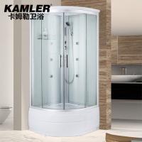 卡姆勒整体淋浴房带浴缸浴室沐浴洗澡蒸汽房钢化玻璃沐浴房多功能