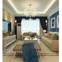 泰宏建业国际城135平三居室,简欧风格设计