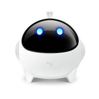 安索夫太空人迷你可爱个性发光手机电脑音箱USB低音炮便携笔记本小音响 暑期大促 白色